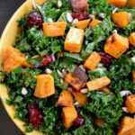Roasted Sweet Potato and Chicken Salad